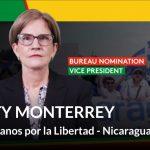 Kitty Monterrey es nominada  a la vice presidencia de la Internacional Liberal