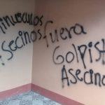 Orteguistas realizan pintas  en casas de dirigentes de CxL de Nueva Segovia
